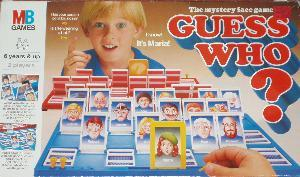 Guess Who board game 80s