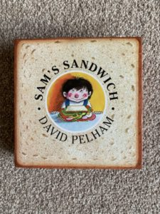cover of sam's sandwich